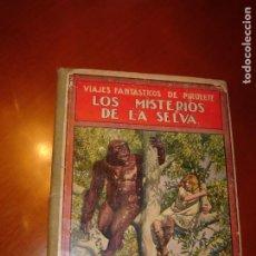 Libros antiguos: LOS MISTERIOS DE LA SELVA. VIAJES FANTÁSTICOS DE PIRULETE. AÑO 1933. ILUSTRADO.. Lote 275668018