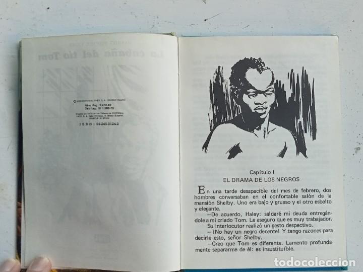 Libros antiguos: La Cabaña del Tío Tom, Ediciones Laida , Harriet Beecher Stowe - Foto 3 - 276585718