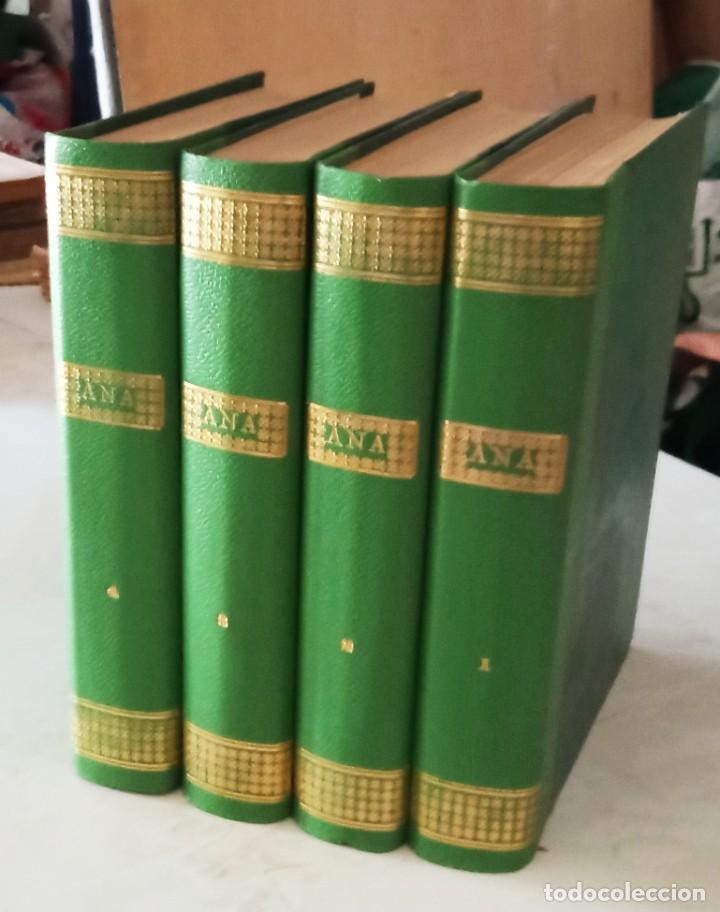 ANA, NOVELA CON ILUSTRACIONES, EN FASCICULOS. ENCUADERNADA 4 TOMOS. ED HISPANO AMERICANA 1956 (Libros Antiguos, Raros y Curiosos - Literatura Infantil y Juvenil - Novela)