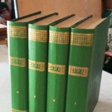 Libros antiguos: ANA, NOVELA CON ILUSTRACIONES, EN FASCICULOS. ENCUADERNADA 4 TOMOS. ED HISPANO AMERICANA 1956. Lote 276706078