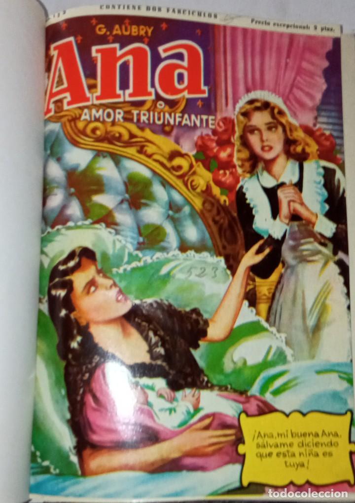 Libros antiguos: Ana, novela con ilustraciones, en fasciculos. Encuadernada 4 tomos. Ed hispano americana 1956 - Foto 2 - 276706078