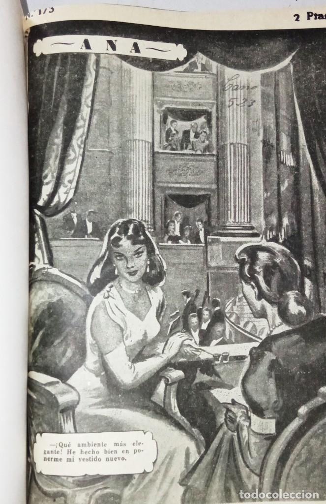 Libros antiguos: Ana, novela con ilustraciones, en fasciculos. Encuadernada 4 tomos. Ed hispano americana 1956 - Foto 5 - 276706078