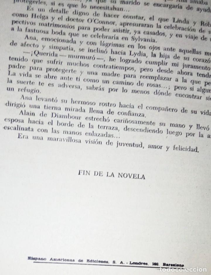 Libros antiguos: Ana, novela con ilustraciones, en fasciculos. Encuadernada 4 tomos. Ed hispano americana 1956 - Foto 6 - 276706078