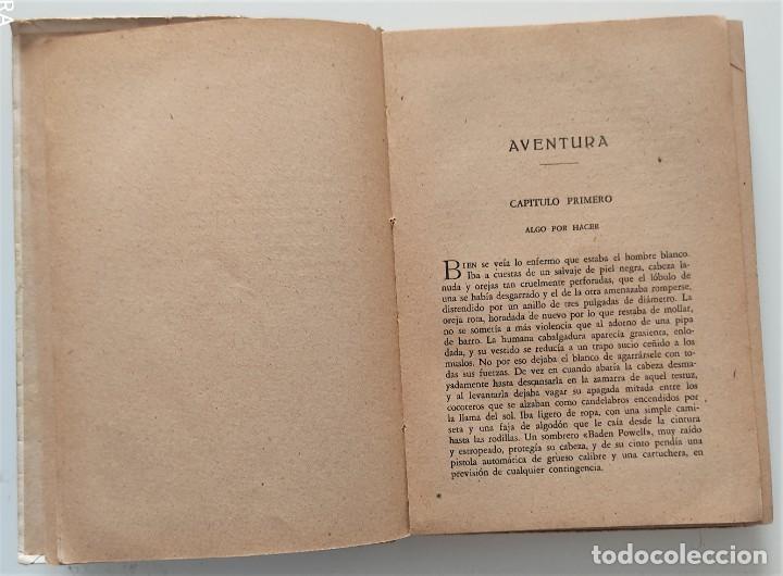 Libros antiguos: AVENTURA - JACK LONDON - EDITORIAL PROMETEO - PORTADA ARTURO BALLESTER - Foto 4 - 276721308