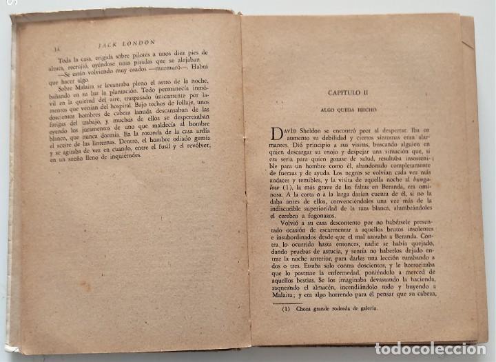 Libros antiguos: AVENTURA - JACK LONDON - EDITORIAL PROMETEO - PORTADA ARTURO BALLESTER - Foto 5 - 276721308