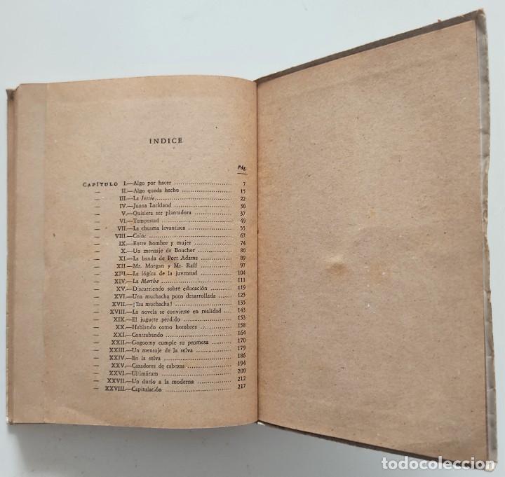 Libros antiguos: AVENTURA - JACK LONDON - EDITORIAL PROMETEO - PORTADA ARTURO BALLESTER - Foto 6 - 276721308