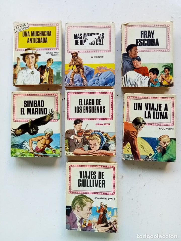 LOTE DE 7 TÍTULOS DE HISTORIAS INFANTIL, BRUGUERA AÑOS 70, PRIMERAS EDICIONES (Libros Antiguos, Raros y Curiosos - Literatura Infantil y Juvenil - Novela)