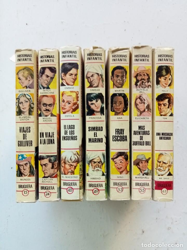 Libros antiguos: Lote de 7 títulos de Historias Infantil, Bruguera años 70, primeras ediciones - Foto 3 - 287227188