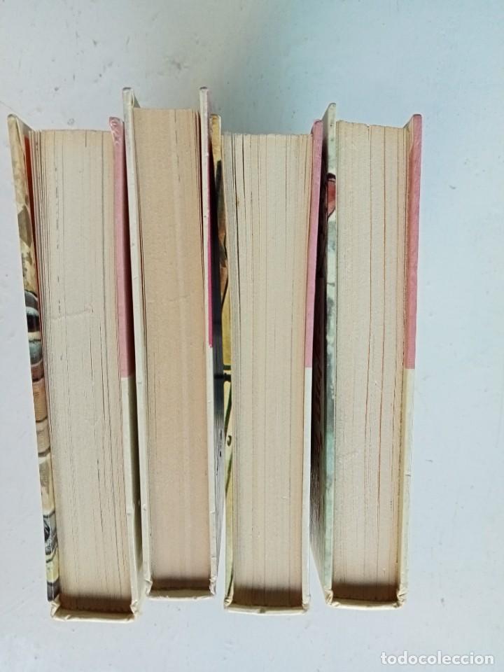 Libros antiguos: Lote de 4 títulos de Enid Blyton (Los Cinco y los Siete secretos), Editorial Juventud años 70 - Foto 6 - 287238463