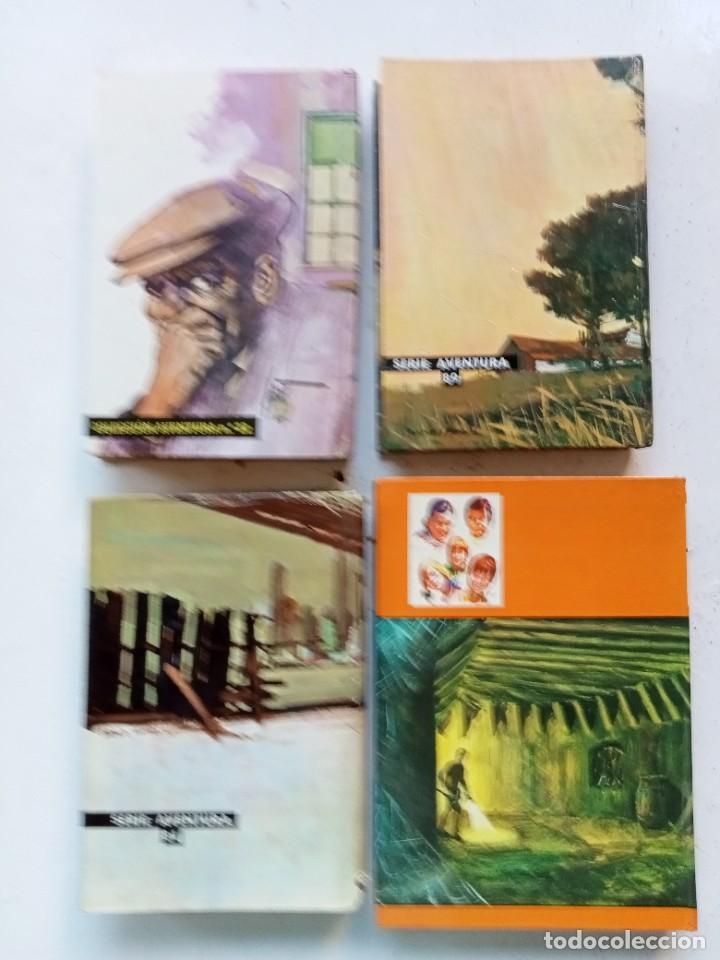 Libros antiguos: 4 novelas juveniles de aventuras e intriga. Los Hollister, Enid Blyton. Toray y Molino. Años 70 - Foto 2 - 287376378
