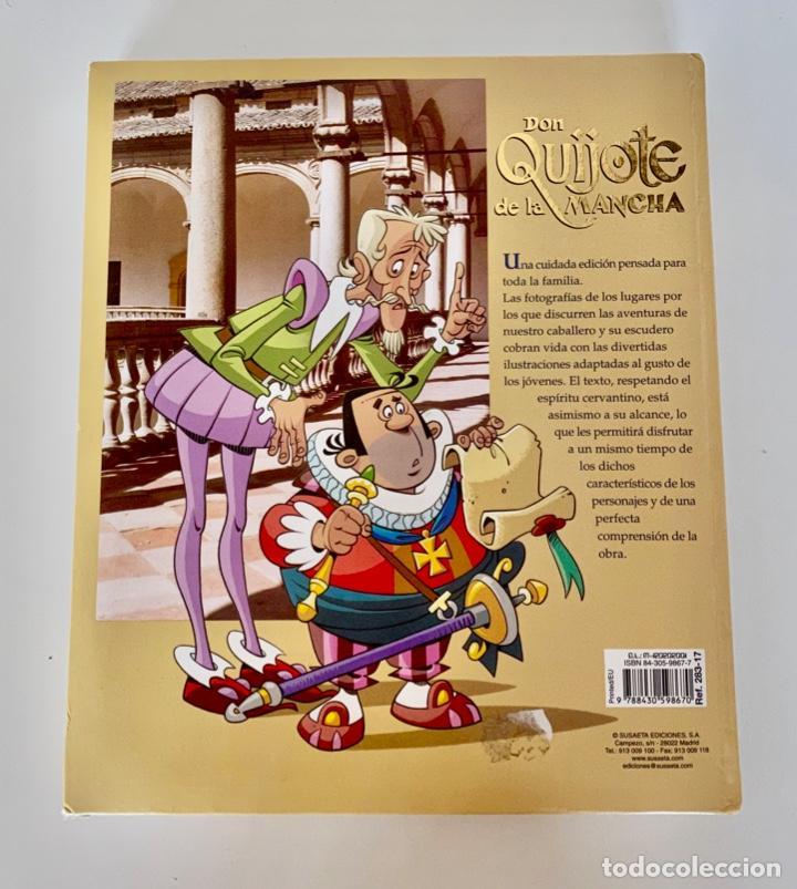 Libros antiguos: DON QUIJOTE DE LA MANCHA-MIGUEL DE CERVANTES-ILLUSTRACIONES ANTONIO ALBARRAN-SUSAETA- TAPA DURA - Foto 2 - 287493168