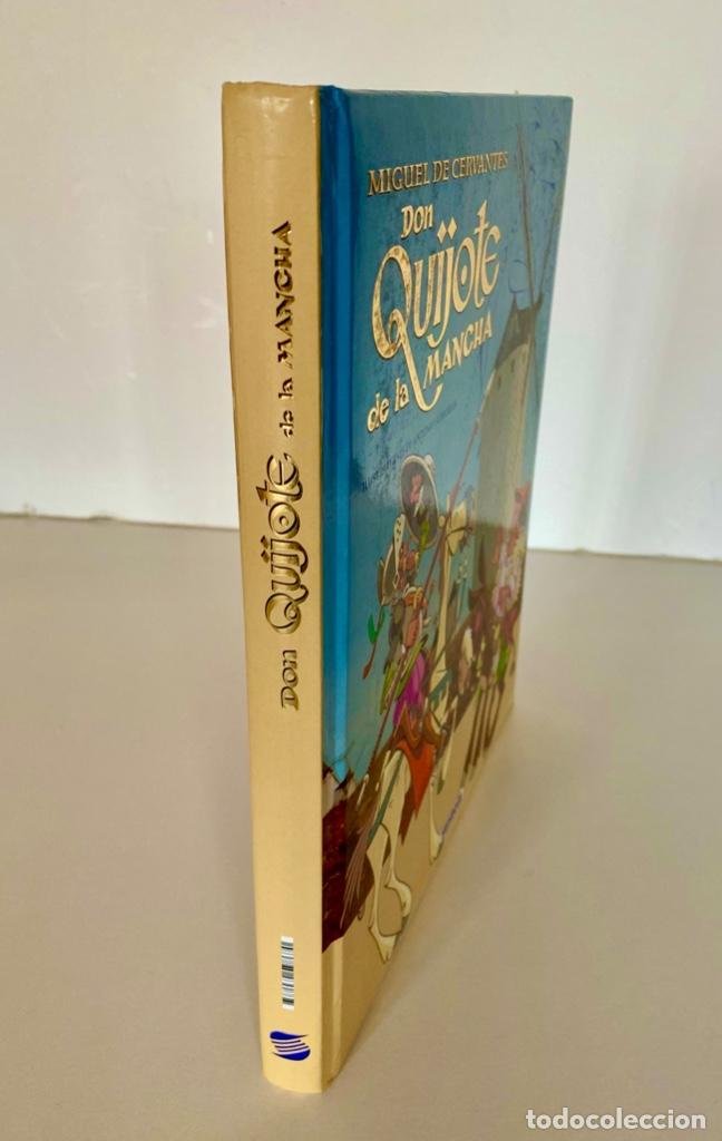 Libros antiguos: DON QUIJOTE DE LA MANCHA-MIGUEL DE CERVANTES-ILLUSTRACIONES ANTONIO ALBARRAN-SUSAETA- TAPA DURA - Foto 3 - 287493168