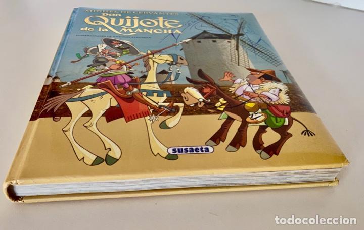Libros antiguos: DON QUIJOTE DE LA MANCHA-MIGUEL DE CERVANTES-ILLUSTRACIONES ANTONIO ALBARRAN-SUSAETA- TAPA DURA - Foto 4 - 287493168