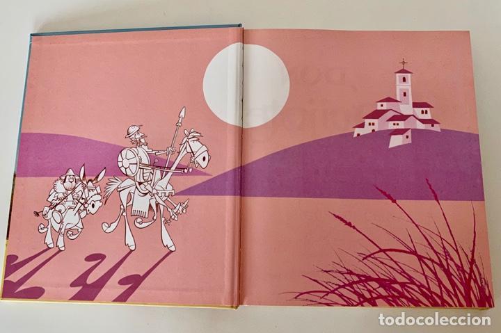 Libros antiguos: DON QUIJOTE DE LA MANCHA-MIGUEL DE CERVANTES-ILLUSTRACIONES ANTONIO ALBARRAN-SUSAETA- TAPA DURA - Foto 5 - 287493168