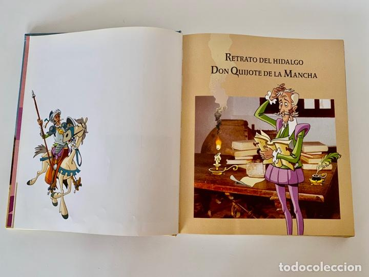 Libros antiguos: DON QUIJOTE DE LA MANCHA-MIGUEL DE CERVANTES-ILLUSTRACIONES ANTONIO ALBARRAN-SUSAETA- TAPA DURA - Foto 8 - 287493168