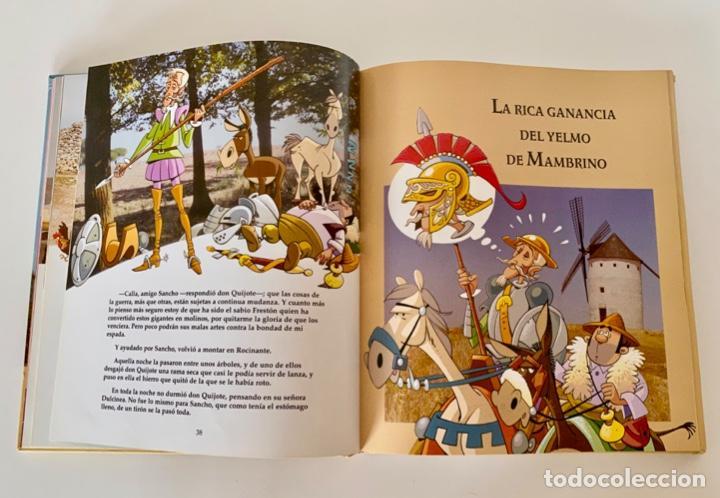 Libros antiguos: DON QUIJOTE DE LA MANCHA-MIGUEL DE CERVANTES-ILLUSTRACIONES ANTONIO ALBARRAN-SUSAETA- TAPA DURA - Foto 10 - 287493168