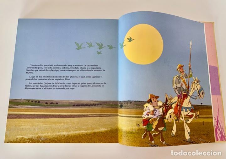 Libros antiguos: DON QUIJOTE DE LA MANCHA-MIGUEL DE CERVANTES-ILLUSTRACIONES ANTONIO ALBARRAN-SUSAETA- TAPA DURA - Foto 11 - 287493168