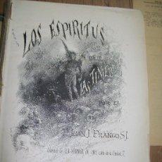 Libros antiguos: LOS ESPIRITUS DE LAS TINIEBLAS-LIBRERÍA DE : LA HORMIGA DE ORO.- BARCELONA- S/F.. Lote 17480160