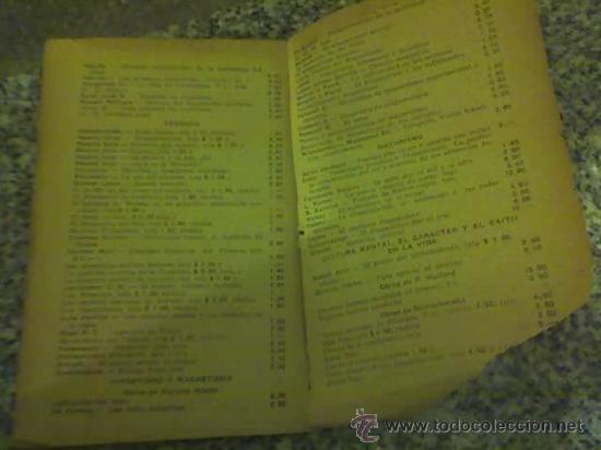 Libros antiguos: ENSAYO DE REVISTA GENERAL Y DE INTERPRETACION SINTETICA DEL ESPIRITISMO, por G. Geley - 1927 - Foto 4 - 26756161