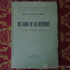Libros antiguos: DEL ARBOL DE LAS HESPÉRIDES ( CUENTOS TEOSÓFICOS ESPAÑOLES ) POR ROSO DE LUNA.1923. Lote 30324622