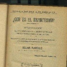 Libros antiguos: OBRAS ESPIRITISTAS - ( 2 TOMOS -CONTIENEN 7 OBRAS) VITRINA SJ (A-ESOT-300). Lote 38360691