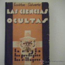 Libros antiguos: LAS CIENCIAS OCULTAS. Lote 53074341