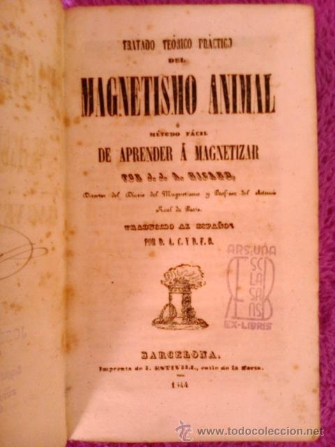 Libros antiguos: TRATADO TEORICO PRACTICO DEL MAGNETISMO ANIMAL,D.J.J A. RICARD 1844 - Foto 2 - 40889764