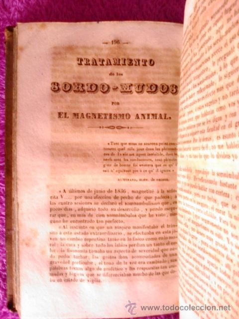 Libros antiguos: TRATADO TEORICO PRACTICO DEL MAGNETISMO ANIMAL,D.J.J A. RICARD 1844 - Foto 5 - 40889764