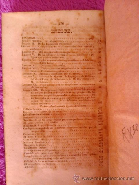 Libros antiguos: TRATADO TEORICO PRACTICO DEL MAGNETISMO ANIMAL,D.J.J A. RICARD 1844 - Foto 6 - 40889764
