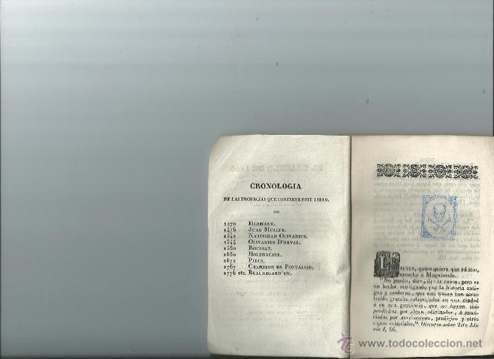 Libros antiguos: EL ORÁCULO DE 1840 - DUJARDIN - PROFECÍAS - Foto 2 - 36341375