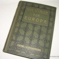 Libros antiguos: LIBRO...UN VIAJE POR EUROPA.. Lote 42423978