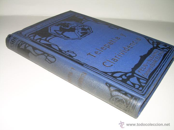 Libros antiguos: LIBRO......TELEPATIA Y CLARIVIDENCIA. - Foto 2 - 42424096