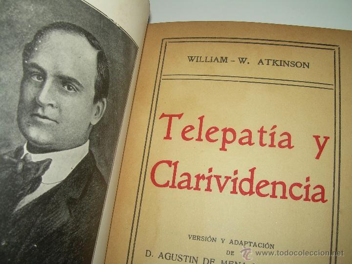 Libros antiguos: LIBRO......TELEPATIA Y CLARIVIDENCIA. - Foto 3 - 42424096