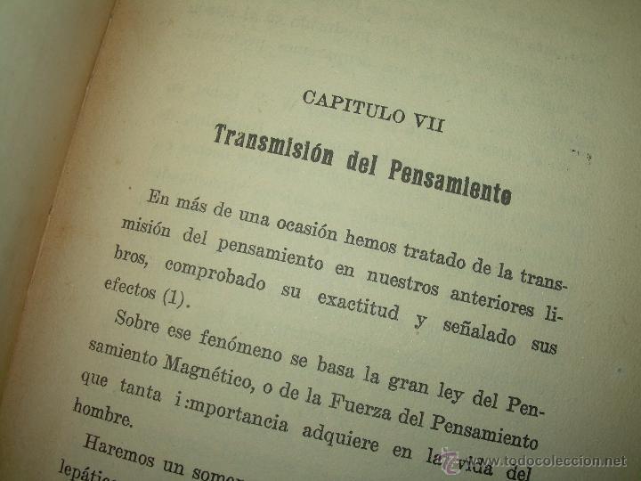 Libros antiguos: LIBRO......TELEPATIA Y CLARIVIDENCIA. - Foto 10 - 42424096