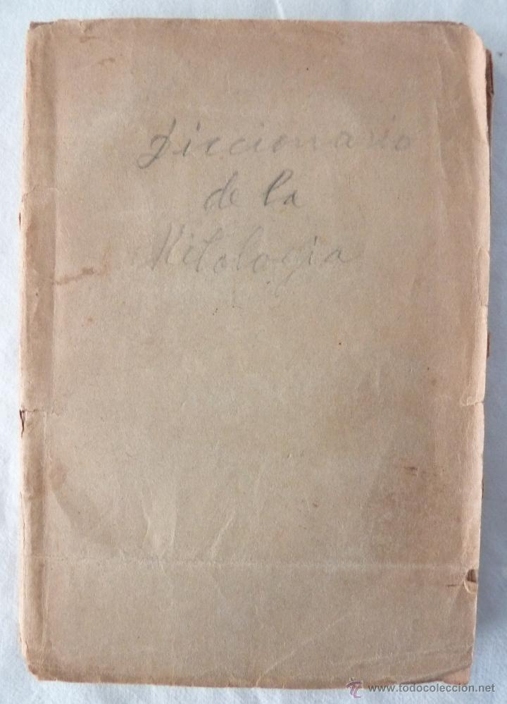 Libros antiguos: DICCIONARIO MANUAL DE LA MITOLOGÍA / DON LUIS BORDAS 1855 / MISTERIOS Y CEREMONIAS DEL CULTO PAGANO - Foto 2 - 42985918