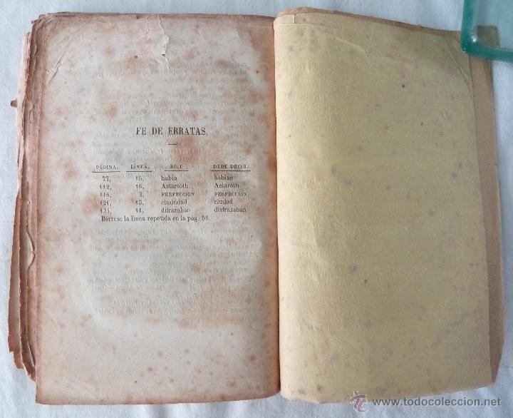 Libros antiguos: DICCIONARIO MANUAL DE LA MITOLOGÍA / DON LUIS BORDAS 1855 / MISTERIOS Y CEREMONIAS DEL CULTO PAGANO - Foto 10 - 42985918