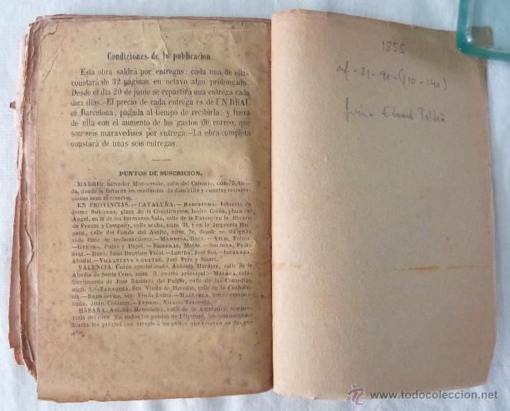 Libros antiguos: DICCIONARIO MANUAL DE LA MITOLOGÍA / DON LUIS BORDAS 1855 / MISTERIOS Y CEREMONIAS DEL CULTO PAGANO - Foto 11 - 42985918