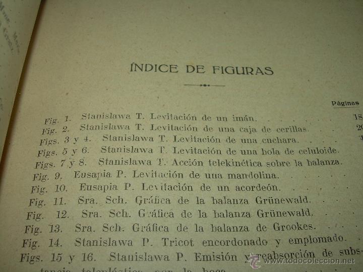 Libros antiguos: LOS FENOMENOS DE LA MEDIUMNIDAD.....AÑO..1.928 (CON INFINIDAD DE FOTOGRAFIAS). - Foto 10 - 44812965