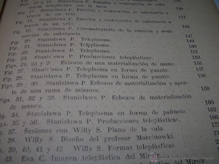 Libros antiguos: LOS FENOMENOS DE LA MEDIUMNIDAD.....AÑO..1.928 (CON INFINIDAD DE FOTOGRAFIAS). - Foto 11 - 44812965