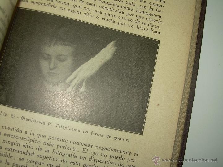 Libros antiguos: LOS FENOMENOS DE LA MEDIUMNIDAD.....AÑO..1.928 (CON INFINIDAD DE FOTOGRAFIAS). - Foto 18 - 44812965