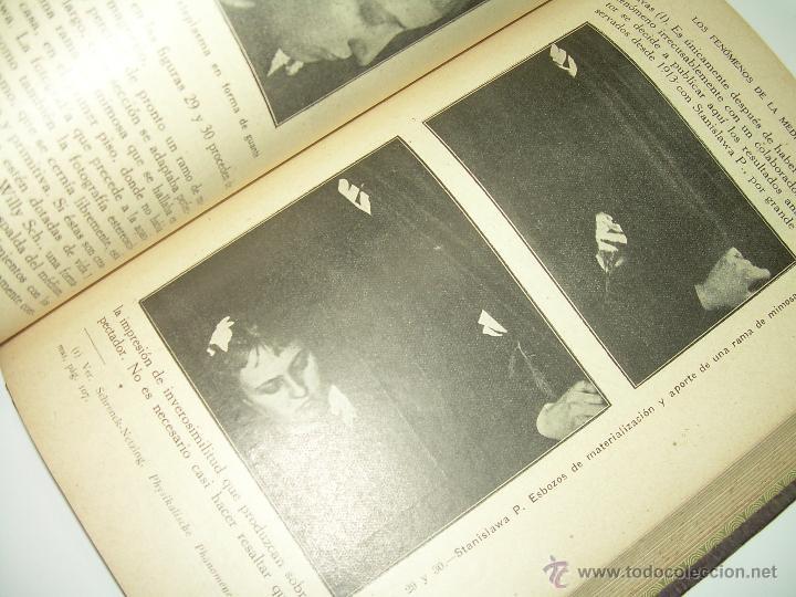 Libros antiguos: LOS FENOMENOS DE LA MEDIUMNIDAD.....AÑO..1.928 (CON INFINIDAD DE FOTOGRAFIAS). - Foto 19 - 44812965