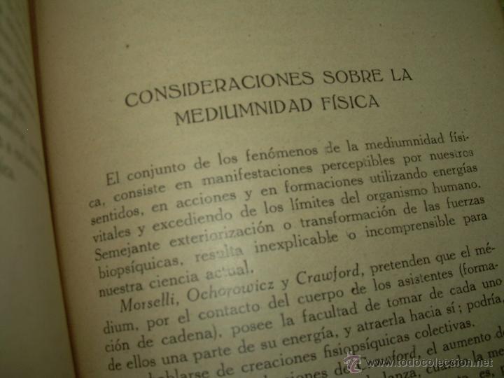 Libros antiguos: LOS FENOMENOS DE LA MEDIUMNIDAD.....AÑO..1.928 (CON INFINIDAD DE FOTOGRAFIAS). - Foto 21 - 44812965