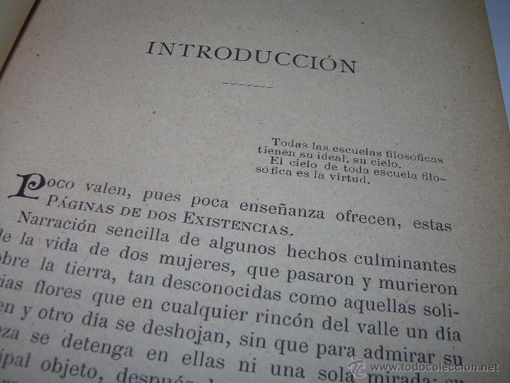 Libros antiguos: PAGINAS DE ULTRATUMBA...MARIETTA Y ESTRELLA...AÑO..1.899 - Foto 7 - 44833446