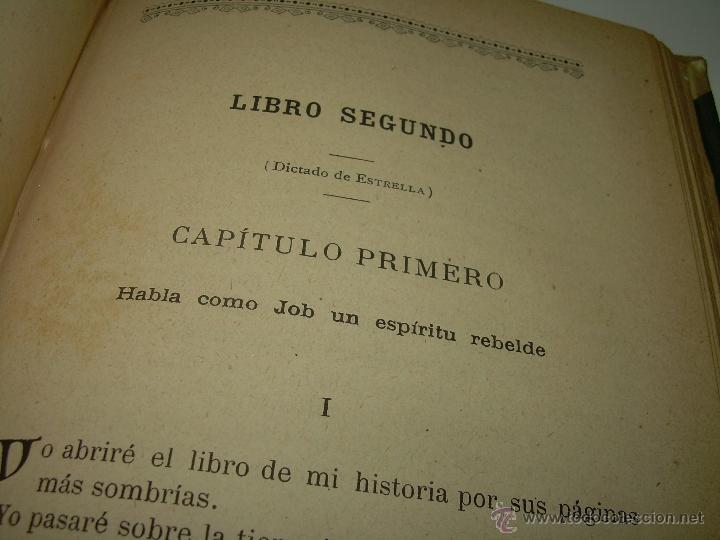 Libros antiguos: PAGINAS DE ULTRATUMBA...MARIETTA Y ESTRELLA...AÑO..1.899 - Foto 10 - 44833446