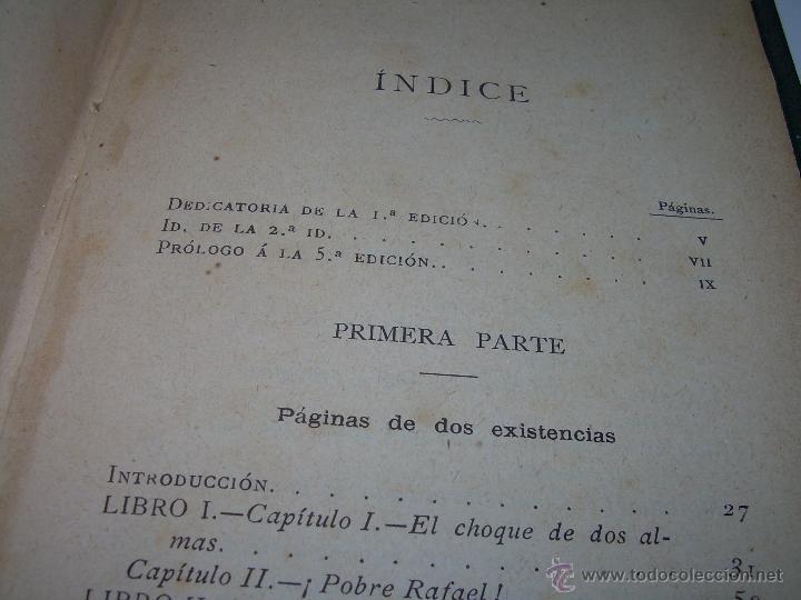 Libros antiguos: PAGINAS DE ULTRATUMBA...MARIETTA Y ESTRELLA...AÑO..1.899 - Foto 11 - 44833446