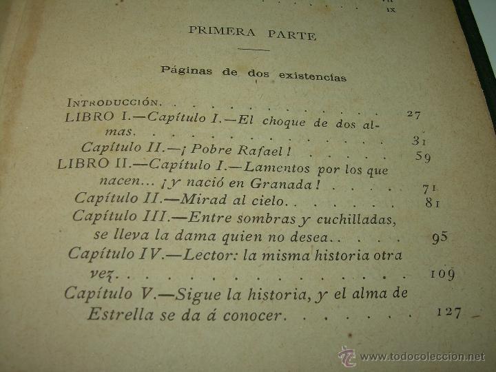 Libros antiguos: PAGINAS DE ULTRATUMBA...MARIETTA Y ESTRELLA...AÑO..1.899 - Foto 12 - 44833446
