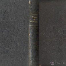 Libros antiguos: EL LIBRO DEL PROPIETARIO D. MANUEL DANVILA IMPRENTA EL VALENCIANO 1861 PROPIEDAD CONTRATOS DERECHOS. Lote 45267880