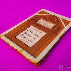 Libros antiguos: LA DOCTRINA SECRETA DEL HOMBRE, H. P. BLAVATSKY 1925. Lote 46473269