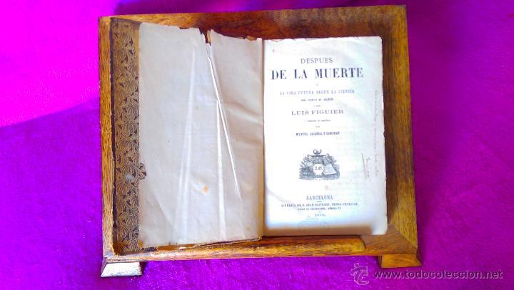 DESPUES DE LA MUERTE, LUIS FIGUER, MANUEL ARANDA Y SANJUAN, 1873 PRIMERA EDICION, RARA (Libros Antiguos, Raros y Curiosos - Parapsicología y Esoterismo)