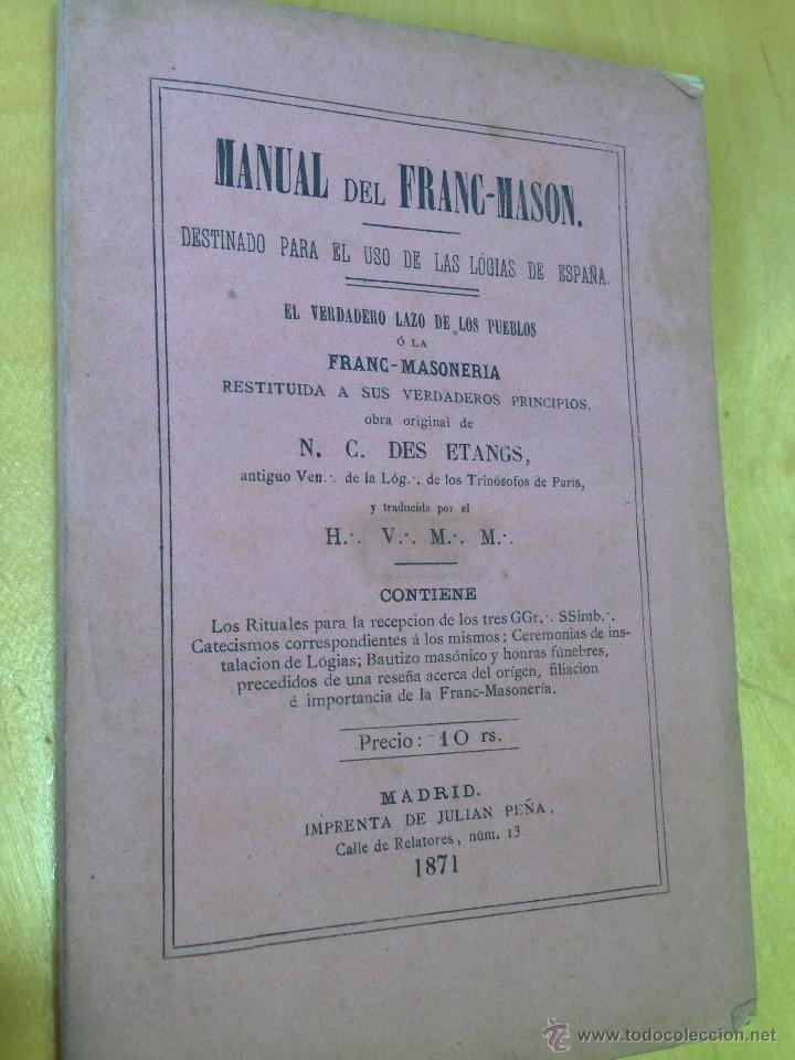 MANUAL DE ESOTERISMO MASONICO EBOOK